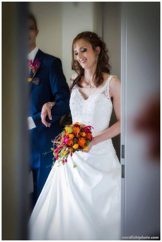 Melanie Schneider sah als Braut bezaubernd aus!